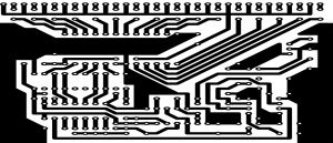 Layout of a printed circuit board
