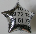 Personalized mylar balloon